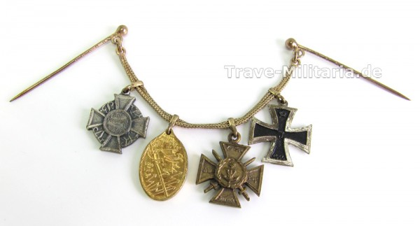 4er Miniaturkette Kriegerbund