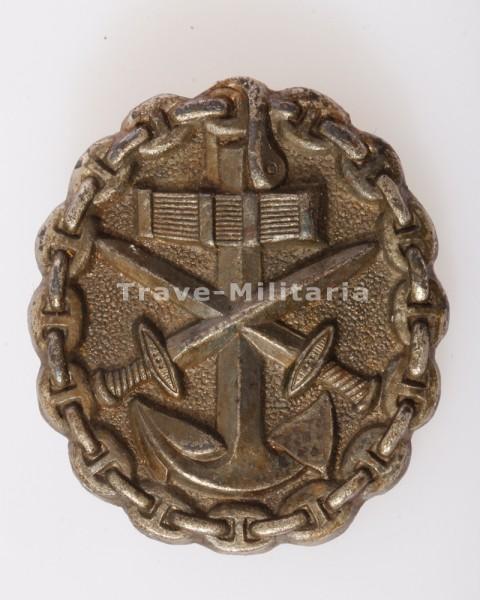 Verwundetenabzeichen der Marine 1918 in Silber