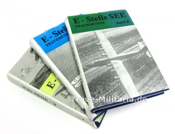 E-Stelle See in 3 Bänden - Flugerprobungsstellen Travemünde Tarnewitz