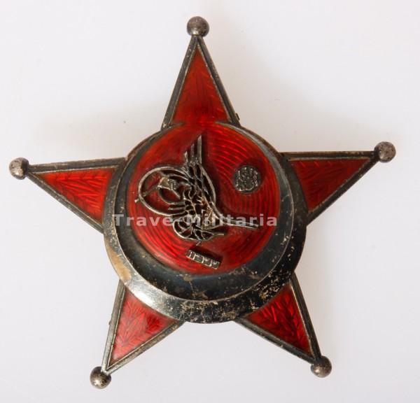 Osmanisches Reich Eiserner Halbmond Stern von Gallipoli