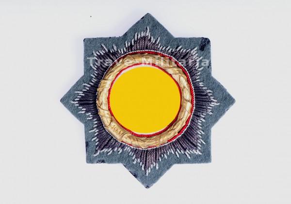Deutsches Kreuz in Gold - Stoff-Ausführung