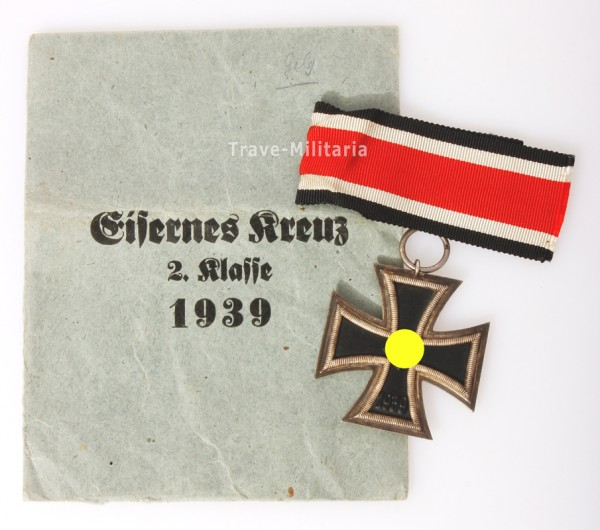 Eisernes Kreuz 2.Klasse 1939 mit Tüte