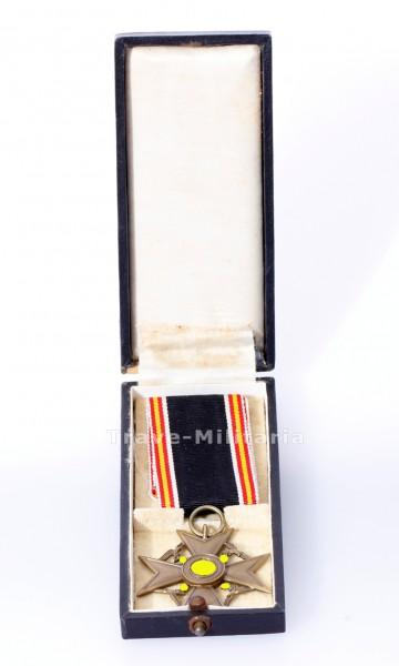 Ehrenkreuz für Hinterbliebene deutscher Spanienkämpfer im Etui