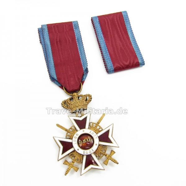 Rumänien Kreuz der Krone für Ritter
