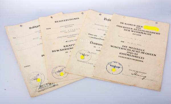 Nachlass Willi Drawer - Panzerjägerabteilung 2