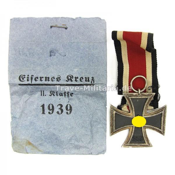 Eisernes Kreuz 2. Klasse mit Verleihungstüte