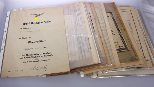 Nachlass Gerhard Stamp Ritterkreuzträger 1./ Lehrgeschwader 1