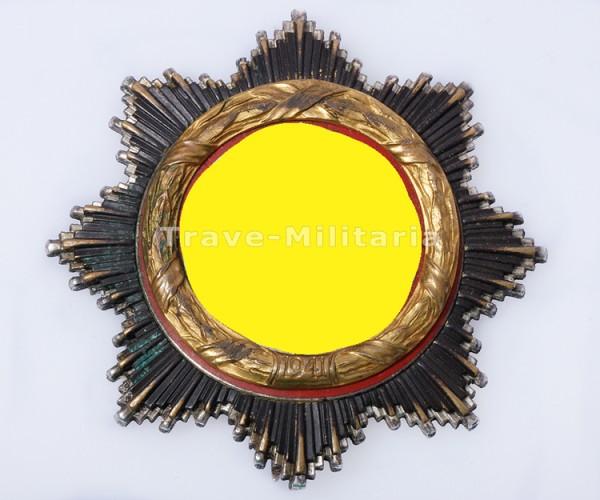Deutsches Kreuz in Gold mit Absturzschaden