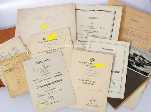 Papiernachlass Miebach Grenadier-Regiment 78 26. I.D. und 26. V.G.D.