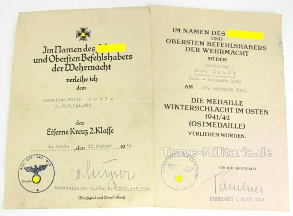 2er Urkundengruppe 269 I.D./30.I.D.