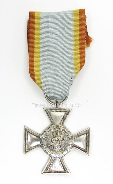 Mecklenburg-Strelitz Kreuz für Auszeichnung im Kriege 2. Klasse 1914
