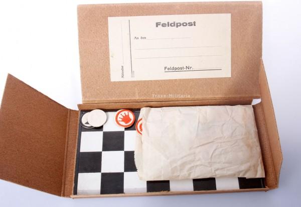 Feldschachspiel in Feldpostpaket