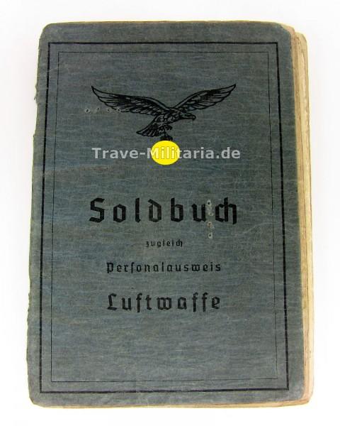 Soldbuch Flak/Fallschirm-Flak Spanienkreuzträger