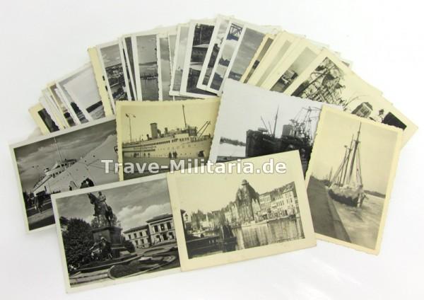 Gemischte Fotos Kriegsmarine/Danzig/Kiel