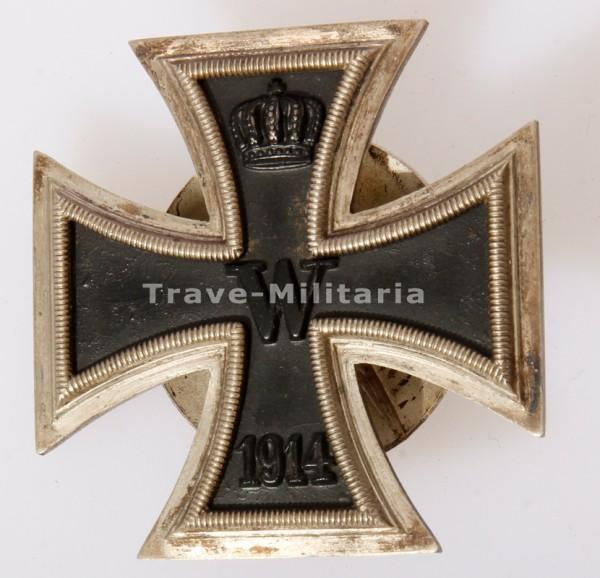 Eisernes Kreuz 1. Klasse 1914 an Schraubscheibe 39er