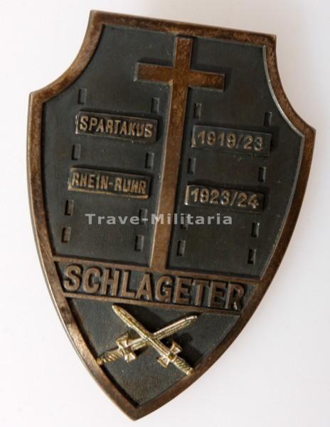 Schlageter Erinnerungsabzeichen Schlageter- Schild 3. Form