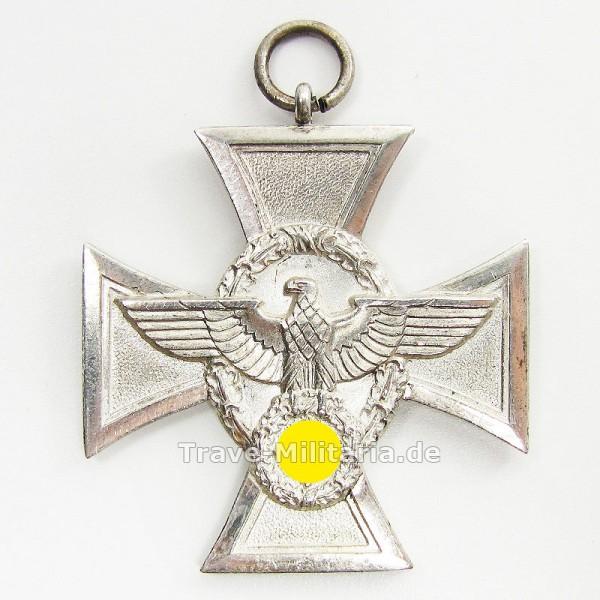Polizeidienstauszeichnung in Silber für 18 Jahre