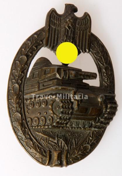 Panzerkampfabzeichen in Bronze AS