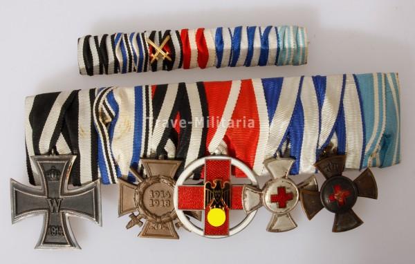 7er Ordensspange Bayern Rotes Kreuz