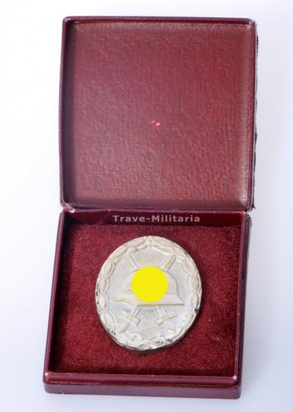 Schickle - Verwundetenabzeichen in Silber im Etui