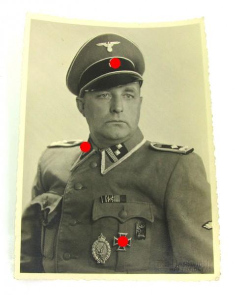 Portrait SS Sturmscharführer Otto Schmidt