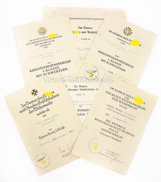 Urkundengruppe 7. Infanterie-Division