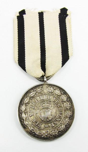 Silberne Verdienstmedaille Hohenzollern Fürstentum - OEK 1039