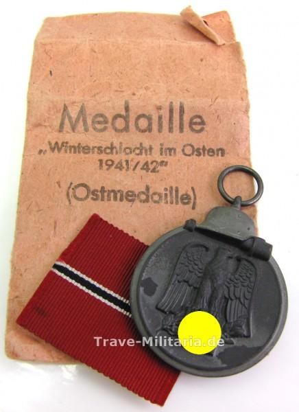 Medaille Winterschlacht im Osten mit Tüte
