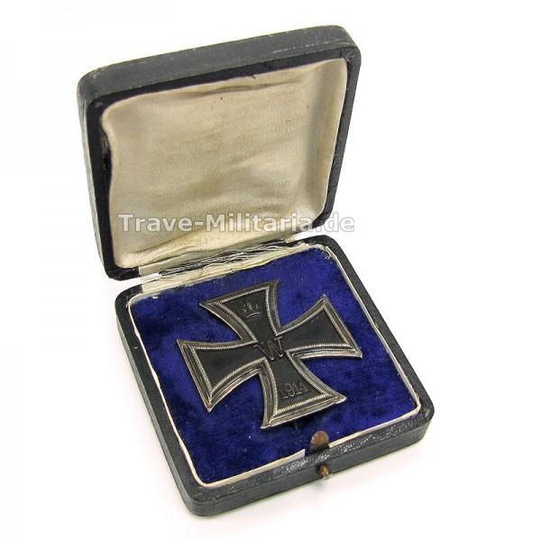 Eisernes Kreuz 1. Klasse 1914 im Etui Hersteller Godet