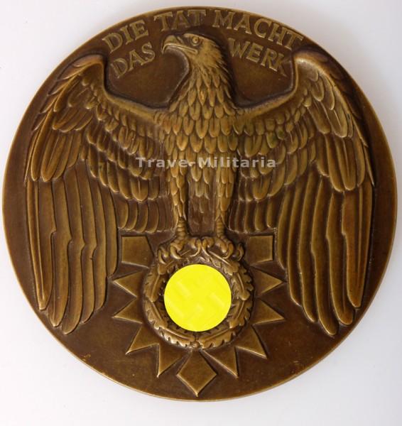 """3. Reich Hansestadt Kiel Medaille """"Für Verdienste um die Stadt Kiel"""""""