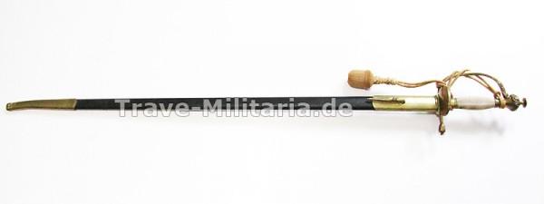 Infanterie-Offizier-Degen alter Art Ausführung für Traditionsvereine
