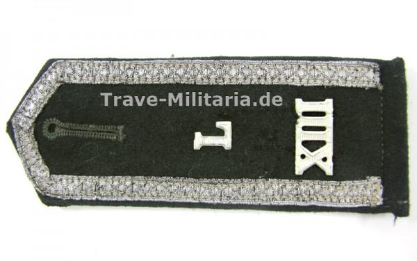Schulterklappe XIII Landesschützen Unteroffizier