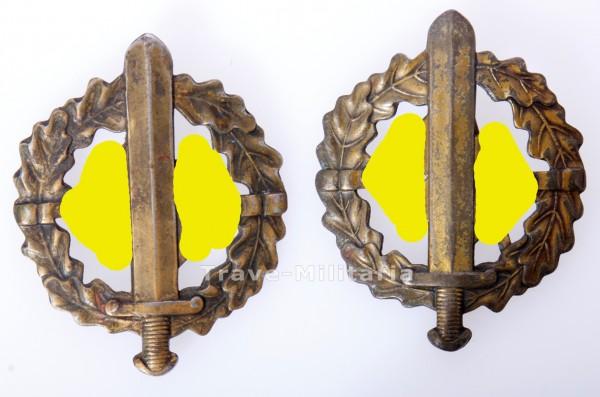2x SA Sportabzeichen in Bronze