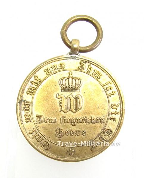 Preußen Kriegsdenkmünze 1870/1871 für Kämpfer