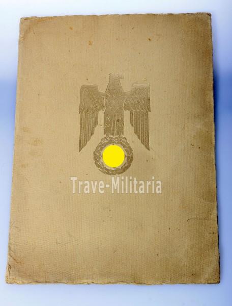 Urkunde Uhlendorff vom Regierungsbaurat zum Horcher der Luftwaffe