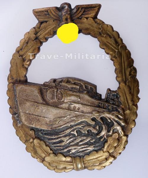 1. Form Schnellbootkriegsabzeichen
