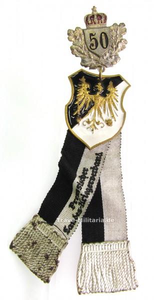 Abzeichen Preußischer Landes-Kriegerverband für 50 Jahre 1. Form