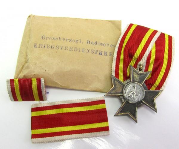 Set Großherzoglich Badisches Kriegsverdienstkreuz 1916