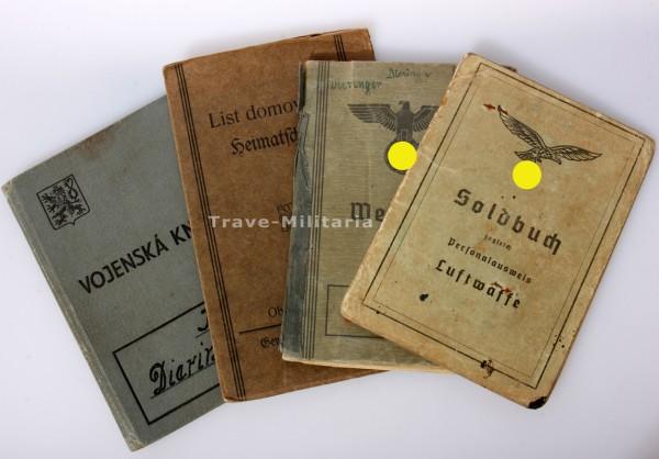 Papiere Dieringer von Luftwaffe zur SS- Panzer-Armee Nachrichten Abteilung 6