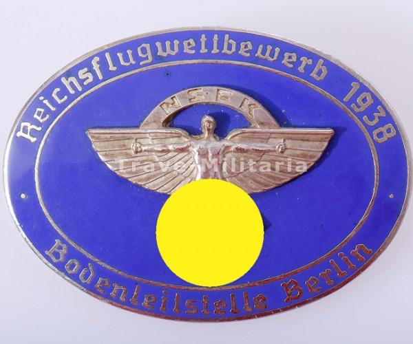 NSFK Reichsflugwettbewerb 1938 Bodenleitstelle Berlin