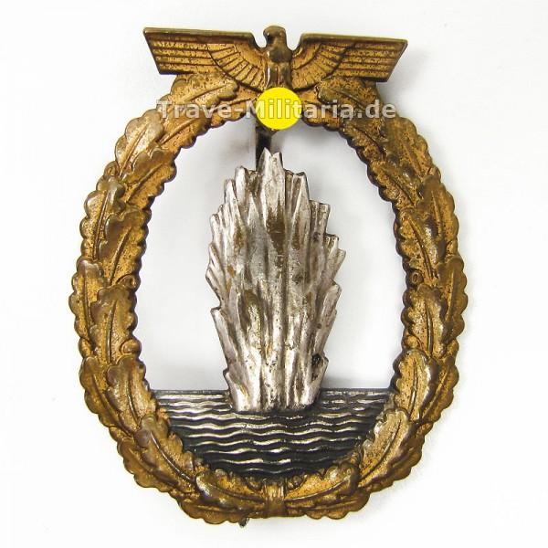 Minensucherkriegsabzeichen Schwerin-Berlin - Buntmetall