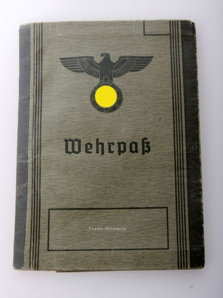 Wehrmacht Heer Wehrpass Berlin
