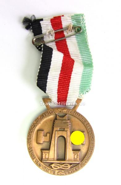 Deutsch - Italienische Afrika Feldzugsmedaille Bronze am Band