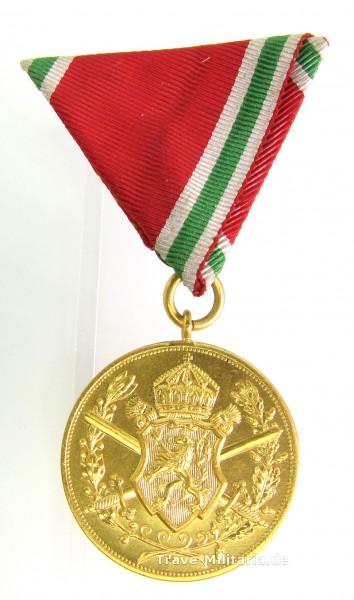Bulgarien Kriegsdenkmünze 1915-1918 am Dreiecksband
