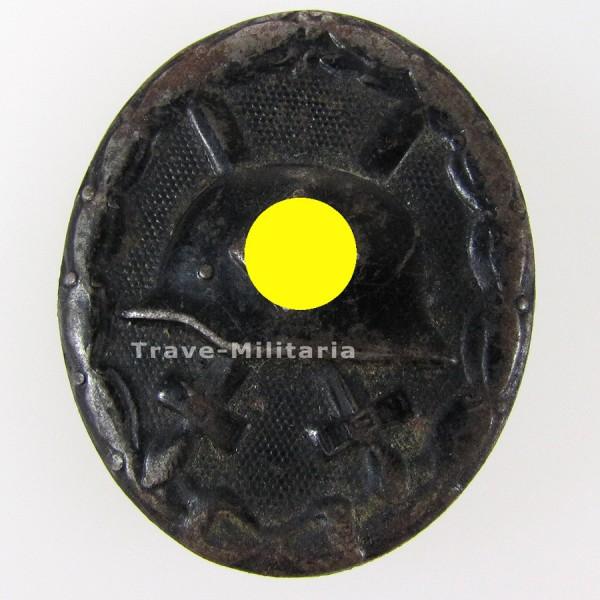 Verwundetenabzeichen in Schwarz Hersteller 124