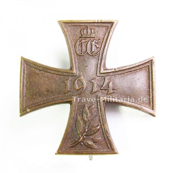 Sachsen-Coburg-Gotha Kriegs-Erinnerungskreuz Steckkreuz 1914-18