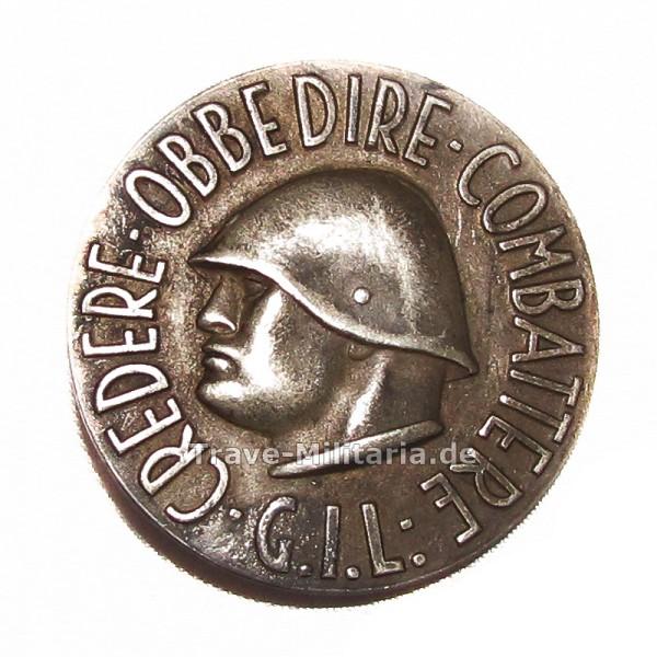 Italien Medaille G.I.L. Credere Obbedire Combattere