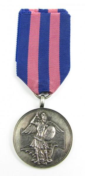 Silberne Medaille des Verdienstordens vom heiligen Michael Bayern mit Stempelschneider