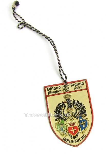 Teilnehmerabzeichen Ostland-Tagung VDA 1935 Königsberg