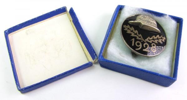 Stahlhelmbund Eintrittsabzeichen 1928 im Etui